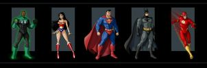 justice league by nightwing1975