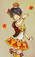 Shinobu autumn Nico Card by icekitsune13darkfire