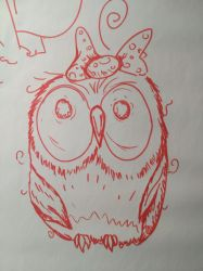 Owl boring by Tiorion-ua