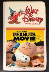 Vintage Walt Disney Home Video-The Peanuts Movie by QuantumInnovator