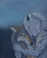 We don't mind the rain by Kodioko