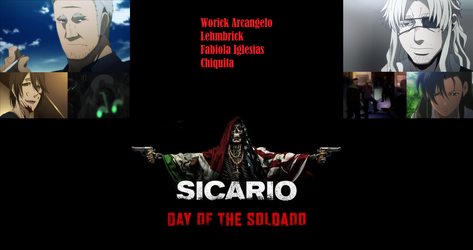Sicario Day of the Soldado Anime by WFTC141