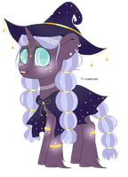 starry witch adopt CLOSED by FIoweress