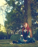 Merida (Brave) Cosplay by Bisc-chan