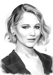 Jennifer Lawrence by Thubakabra