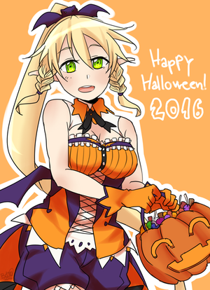 Leafa Halloween by HatoriKumiko