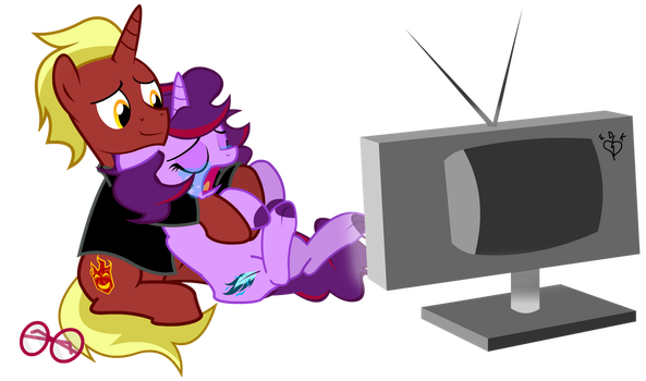 Firebrand and Aramau TV Time Commission by Lightning-Bliss