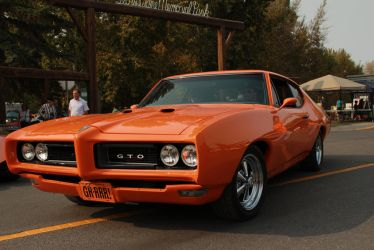 Orange GTO... by KyleAndTheClassics