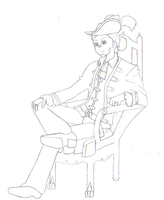 Edward Royale .:Lineart:. by 6SeaCat9