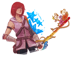 post kh3 kairi?? by hyamara