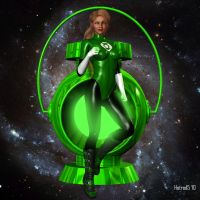 Green Lantern: Korana by hotrod5
