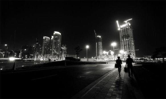 SHADOWSCAPES DUBAI by Ssquared-Photography