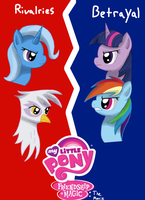 MLP:FiM the Movie Rivals Poster by WolfyOmega
