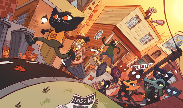 Night in the Woods by Pehesse