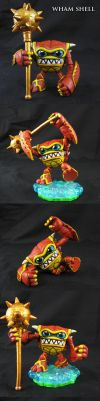 Skylanders articulated Wham Shell by Jin-Saotome