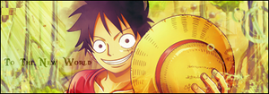 To the new world-Luffy by Loowo