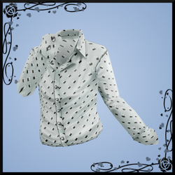 Patterned Dress Shirt DOWNLOAD by Reseliee