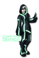 Tron OC: Drex by rocket-soda