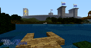 Secret dock of Haveno and city wall of Minechen by RoqqR
