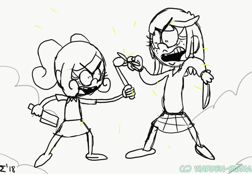 [TLH] Lupa vs Leia [GIF] by Warden-Sigma