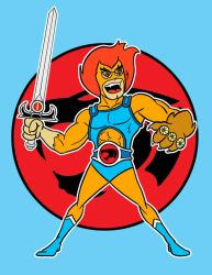 lion-o color by AlanSchell