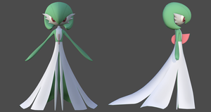 Gardevoir 02 by B2Squared