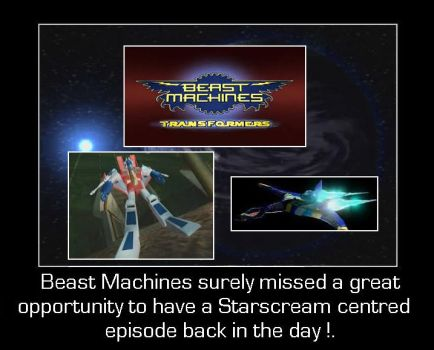 Beast Machines - Missed Opportunity by DoctorWhoOne