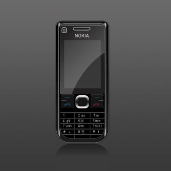 nokia phone black by muratyil