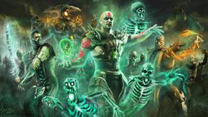 Undead army: Mortal kombat X by Variones