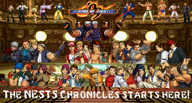 The King of Fighters '99 custom wallpaper by yoink13