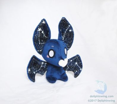 Constellation Bat Plush by dollphinwing