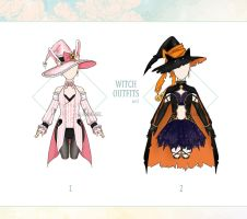 [CLOSED] Witch Outfits by Lomenel