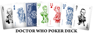 Cards - Doctor Who Poker Deck by SouthParkTaoist
