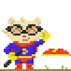 Super Teemo! - Pixel Art by Deviant-Mell