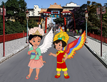 Ai Ling Meets Mulan Fa in Brazil together by Kottylingual