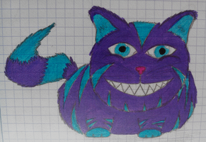 Cheshire cat by Fleepeur