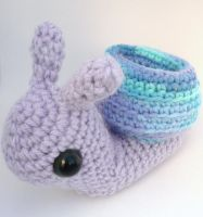 snail cell phone holder by e1fy