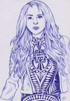 (Teaditional art) Alissa White-Gluz by Ro4le