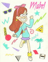 Teen Mabel by TheFreshKnight