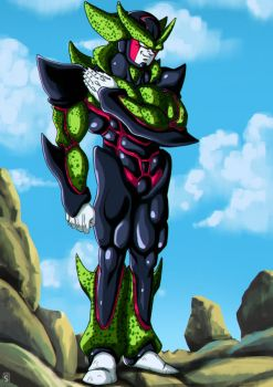 Hyper Perfect Cell by Bloodspl4sh