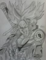 Trunks Super Saiyan by Conzibar