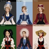 French Folklore Dress up by AzaleasDolls