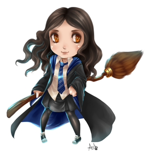 Hogwarts Witch by YunaXD