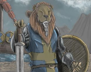 Swedish Lion for Contest by SvirreFisk