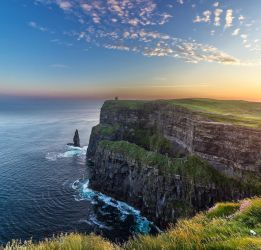 Cliffs of Moher Dawn by TarJakArt