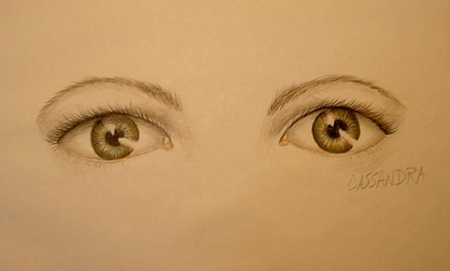 Eyes #1 by NonCorporealCass