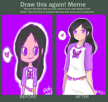 draw this again meme by kyracelest