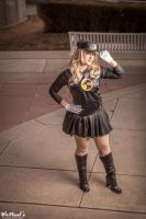 Lady Blackhawk at your service - StephBot Cosplay by St3phBot
