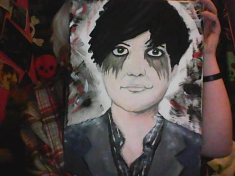 Laurence Beveridge on Canvas by greendaygal13