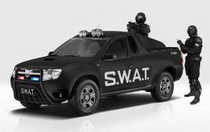 Dacia Duster Pick Up - SWAT by GaryRoswell007